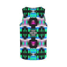 Fuschia Sky Sage All Over Print Tank Top for Women (Model T43) All Over Print Tank Top for Women e-joyer