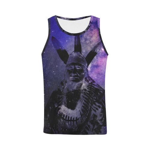Galaxy All Over Print Tank Top for Men (Model T43) All Over Print Tank Top for Men (T43) e-joyer
