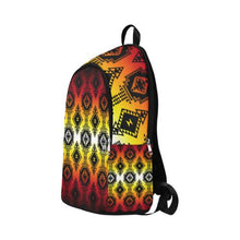 Gathering Fire Fabric Backpack for Adult (Model 1659) Casual Backpack for Adult (1659) e-joyer