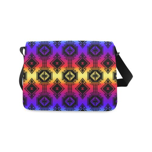 Gathering Sunset Messenger Bag (Model 1628) Messenger Bags (1628) e-joyer