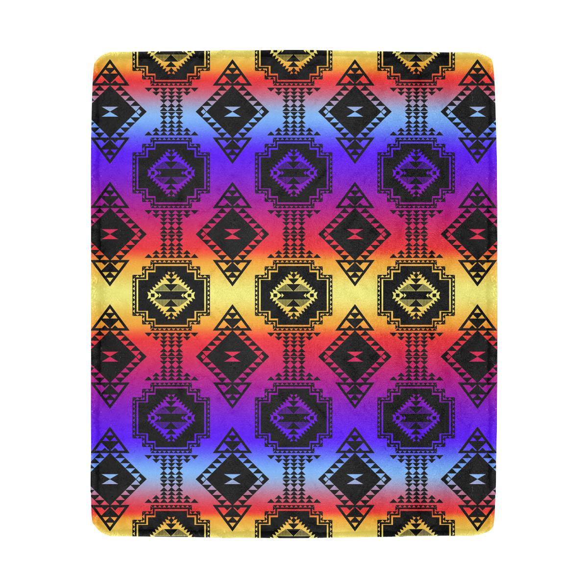 Gathering Sunset Ultra-Soft Micro Fleece Blanket 50