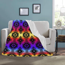 "Gathering Sunset Ultra-Soft Micro Fleece Blanket 50""x60"" Ultra-Soft Blanket 50''x60'' e-joyer"