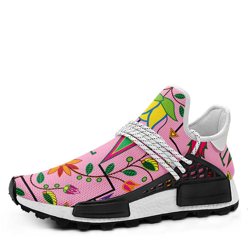 Geometric Floral Summer Sunset Okaki Sneakers Shoes 49 Dzine