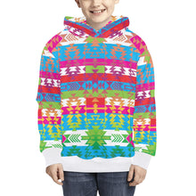 Grand Entry Kids' All Over Print Hoodie (Model H38) Kids' AOP Hoodie (H38) e-joyer