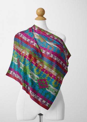 Grand Entry Satin Shawl Scarf 49 Dzine