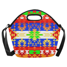 Grand Entry Traditional Neoprene Lunch Bag/Large (Model 1669) Neoprene Lunch Bag/Large (1669) e-joyer