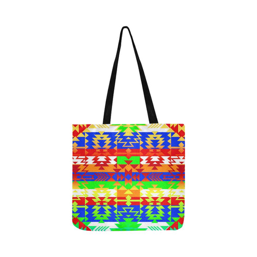 Grand Entry Traditional Reusable Shopping Bag Model 1660 (Two sides) Shopping Tote Bag (1660) e-joyer