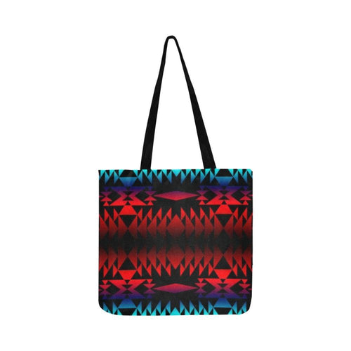 In Between Two Worlds Reusable Shopping Bag Model 1660 (Two sides) Shopping Tote Bag (1660) e-joyer