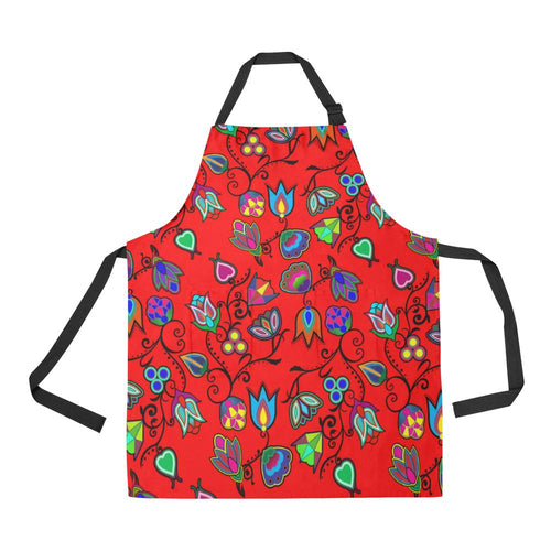 Indigenous Paisley Dahlia All Over Print Apron All Over Print Apron e-joyer