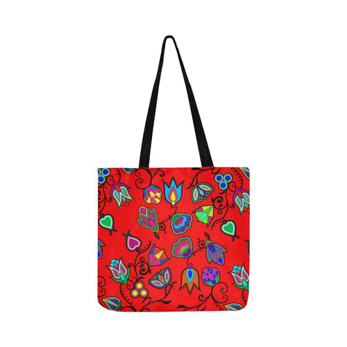 Indigenous Paisley - Dahlia Reusable Shopping Bag Model 1660 (Two sides) Shopping Tote Bag (1660) e-joyer