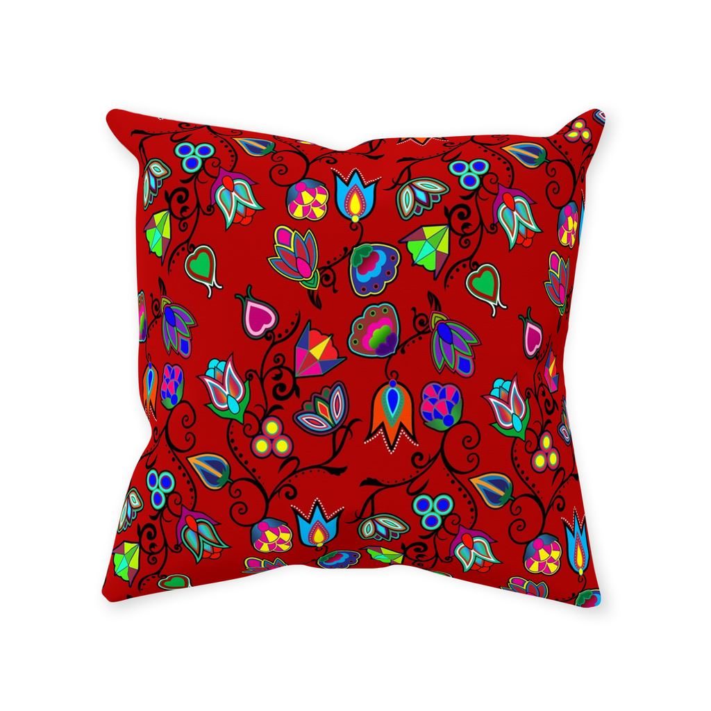Indigenous Paisley - Dahlia Throw Pillows 49 Dzine Without Zipper Spun Polyester 14x14 inch