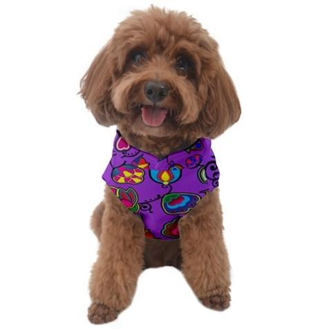 Indigenous Paisley Dark Orchid Dog Sweater FullDress 49 Dzine