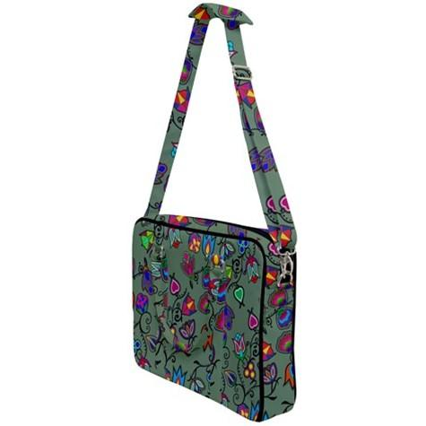 Indigenous Paisley Dark Sea Cross Body Office Bag 49 Dzine