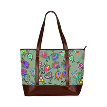 Indigenous Paisley - Dark Sea Tote Handbag (Model 1642) Tote Handbags (1642) e-joyer