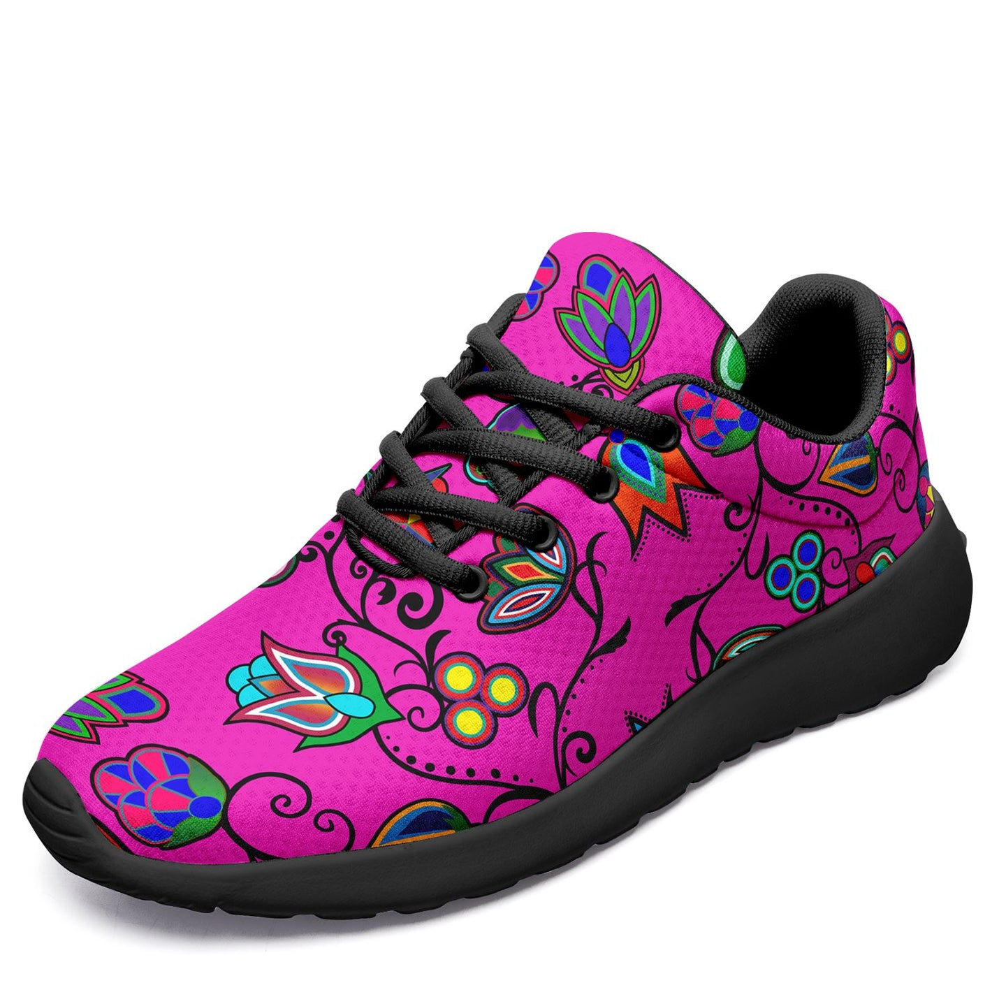 Indigenous Paisley Ikkaayi Sport Sneakers 49 Dzine US Women 4.5 / US Youth 3.5 / EUR 35 Black Sole