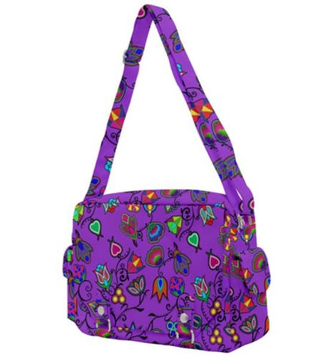 Indigenous Paisley Lilac Buckle Multifunction Bag 49 Dzine