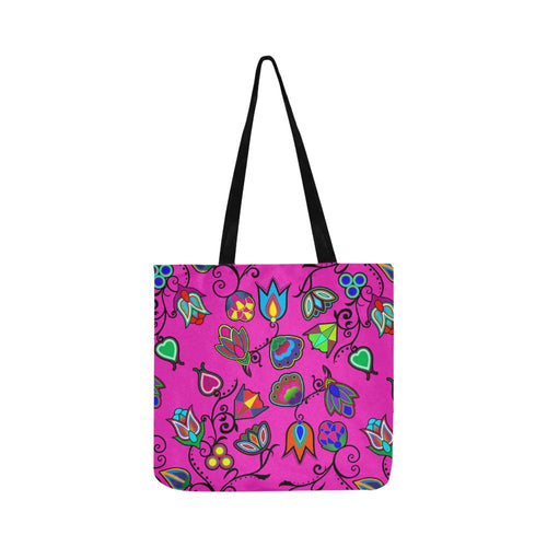 Indigenous Paisley Reusable Shopping Bag Model 1660 (Two sides) Shopping Tote Bag (1660) e-joyer