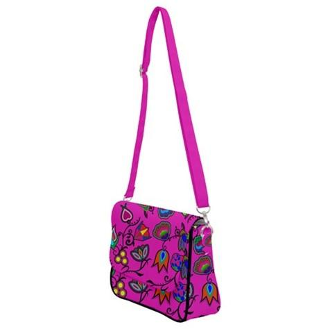 Indigenous Paisley Shoulder Bag with Back Zipper 49 Dzine
