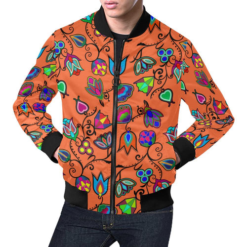 Indigenous Paisley - Sierra All Over Print Bomber Jacket for Men/Large Size (Model H19) All Over Print Bomber Jacket for Men/Large (H19) e-joyer