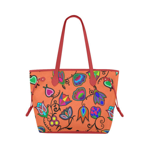 Indigenous Paisley - Sierra Clover Canvas Tote Bag (Model 1661) Clover Canvas Tote Bag (1661) e-joyer