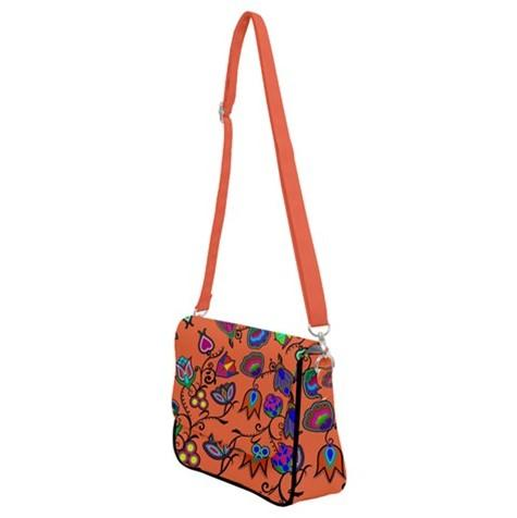 Indigenous Paisley Sierra Shoulder Bag with Back Zipper 49 Dzine
