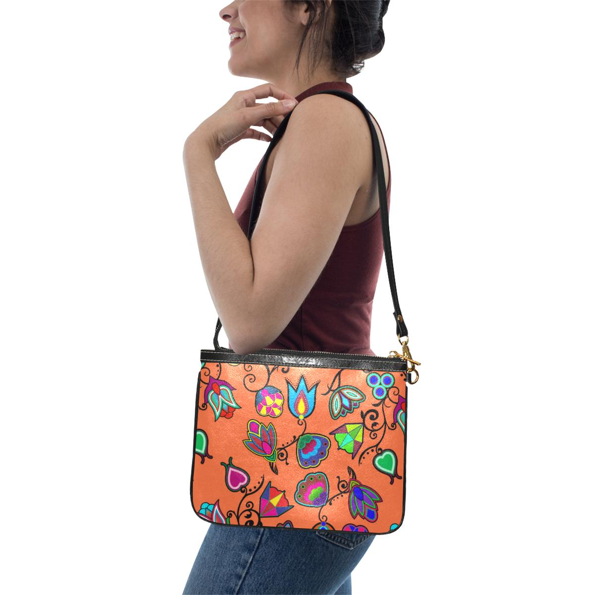 Indigenous Paisley - Sierra Small Shoulder Bag (Model 1710) Small Shoulder Bag (1710) e-joyer