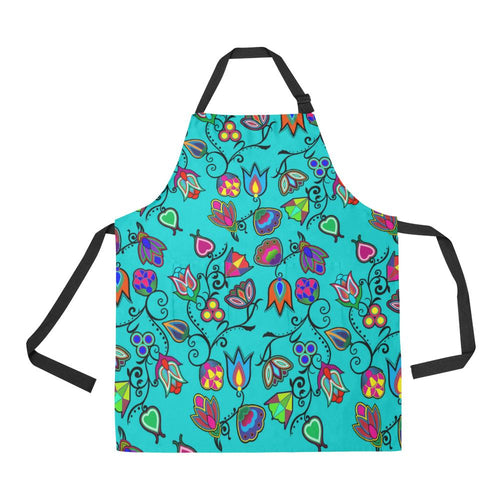 Indigenous Paisley Sky All Over Print Apron All Over Print Apron e-joyer
