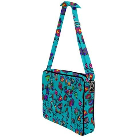 Indigenous Paisley Sky Cross Body Office Bag 49 Dzine