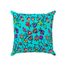 Indigenous Paisley - Sky Throw Pillows 49 Dzine With Zipper Poly Twill 14x14 inch