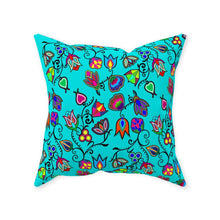 Indigenous Paisley - Sky Throw Pillows 49 Dzine With Zipper Poly Twill 16x16 inch