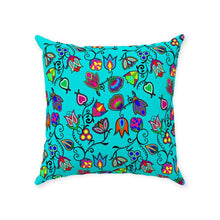 Indigenous Paisley - Sky Throw Pillows 49 Dzine With Zipper Poly Twill 18x18 inch