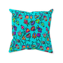 Indigenous Paisley - Sky Throw Pillows 49 Dzine With Zipper Spun Polyester 14x14 inch