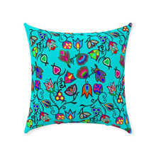 Indigenous Paisley - Sky Throw Pillows 49 Dzine With Zipper Spun Polyester 18x18 inch