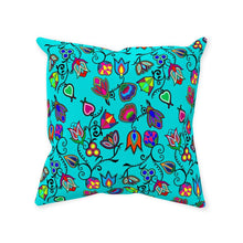 Indigenous Paisley - Sky Throw Pillows 49 Dzine Without Zipper Spun Polyester 14x14 inch