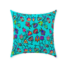 Indigenous Paisley - Sky Throw Pillows 49 Dzine Without Zipper Spun Polyester 18x18 inch