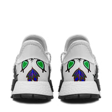 Indigenous Paisley White Okaki Sneakers Shoes 49 Dzine