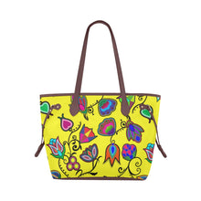 Indigenous Paisley - Yellow Clover Canvas Tote Bag (Model 1661) Clover Canvas Tote Bag (1661) e-joyer