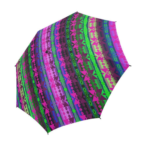 Inside the Quillwork Lodge Semi-Automatic Foldable Umbrella Semi-Automatic Foldable Umbrella e-joyer