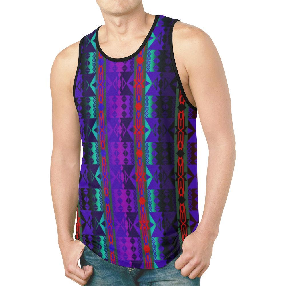 Inside the Warrior's Society Lodge New All Over Print Tank Top for Men (Model T46) New All Over Print Tank Top for Men (T46) e-joyer
