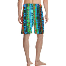 Inside the Women's Lodge Men's All Over Print Casual Shorts (Model L23) Men's Casual Shorts (L23) e-joyer
