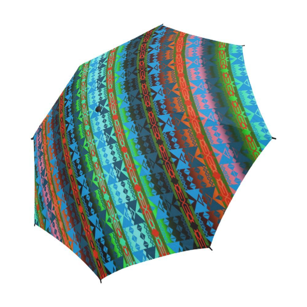 Inside the Women's Lodge Semi-Automatic Foldable Umbrella Semi-Automatic Foldable Umbrella e-joyer