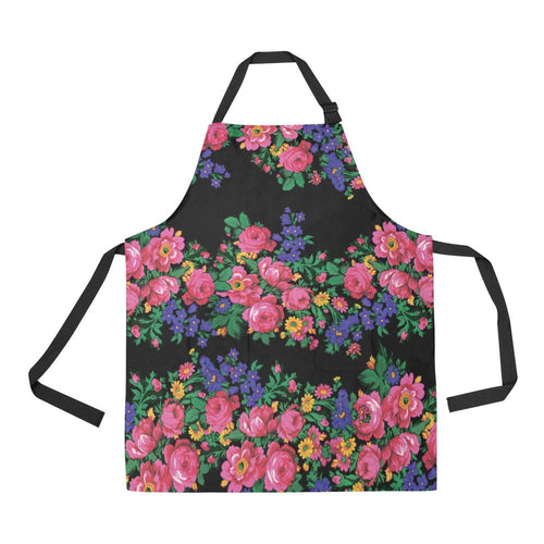 Kokum's Revenge Black All Over Print Apron All Over Print Apron e-joyer