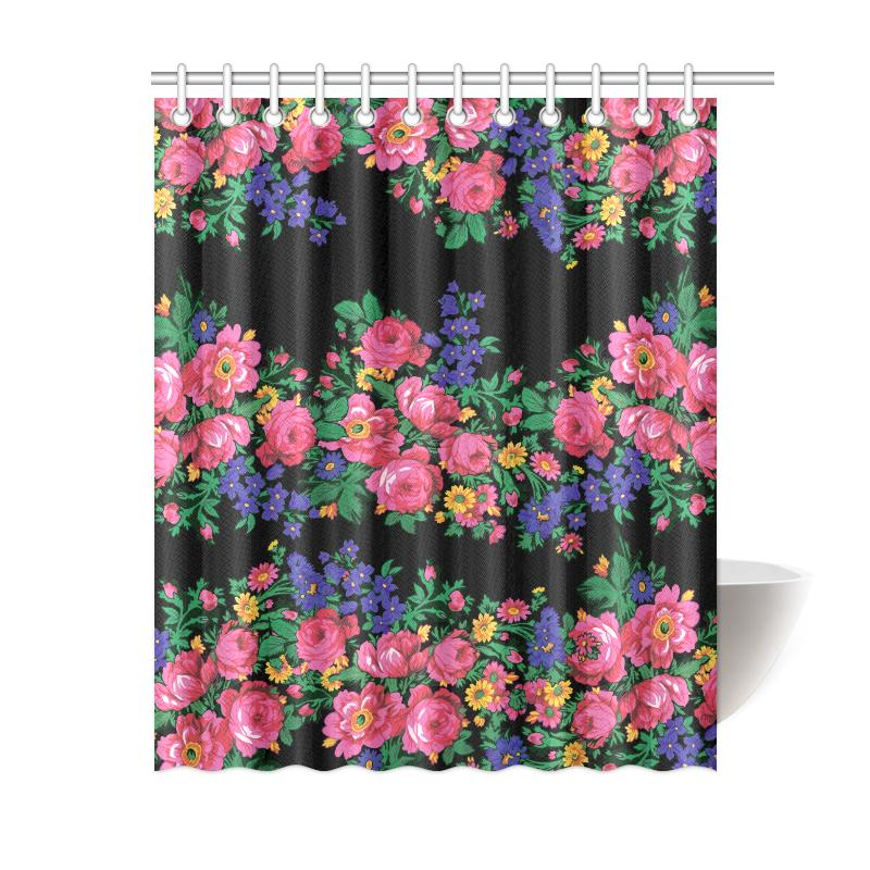 Kokum's Revenge-Black Shower Curtain 60