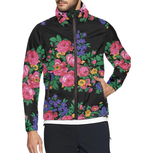Kokum's Revenge Black Unisex All Over Print Windbreaker (Model H23) All Over Print Windbreaker for Men (H23) e-joyer