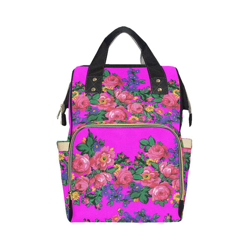 Kokum's Revenge Blush Multi-Function Diaper Backpack (Model 1688) Diaper Backpack (1688) e-joyer