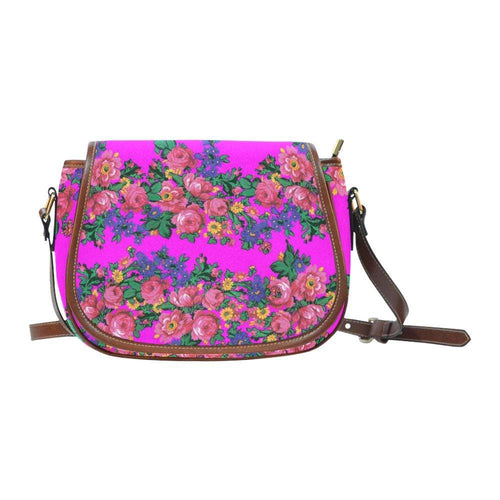 Kokum's Revenge Blush Saddle Bag/Large (Model 1649) Saddle Bag/Large e-joyer