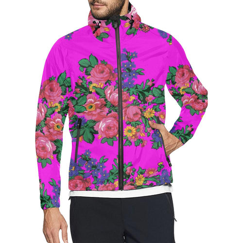 Kokum's Revenge Blush Unisex All Over Print Windbreaker (Model H23) All Over Print Windbreaker for Men (H23) e-joyer
