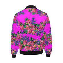 Kokum's Revenge Blush Unisex Heavy Bomber Jacket with Quilted Lining All Over Print Quilted Jacket for Men (H33) e-joyer