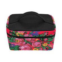 Kokum's Revenge- Dahlia Cosmetic Bag/Large (Model 1658) Cosmetic Bag e-joyer