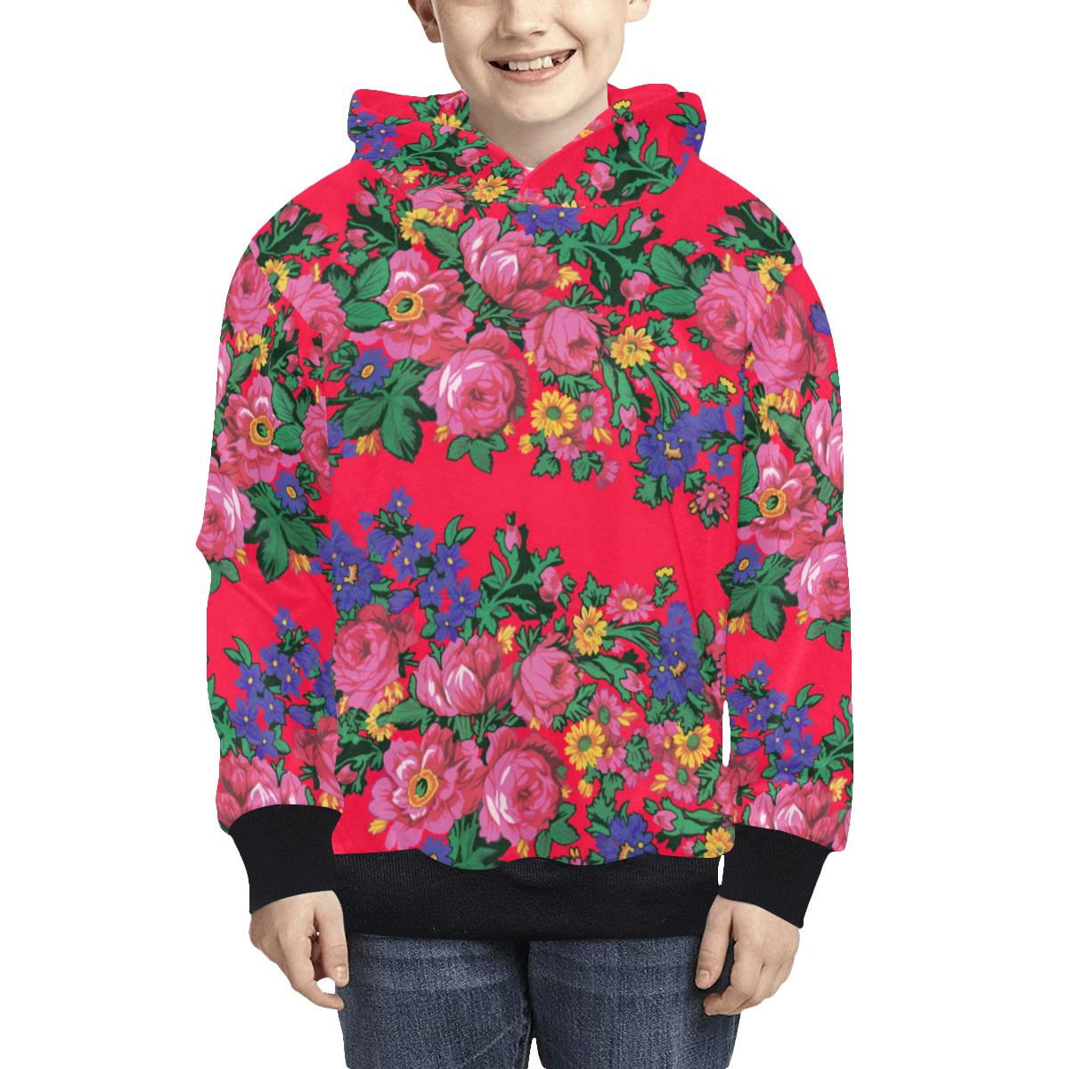 Kokum's Revenge Dahlia Kids' All Over Print Hoodie (Model H38) Kids' AOP Hoodie (H38) e-joyer